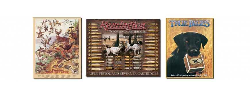 Remington Firearms Metal Sign