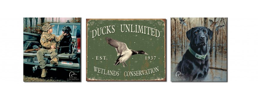 Ducks Unlimited Metal Signs