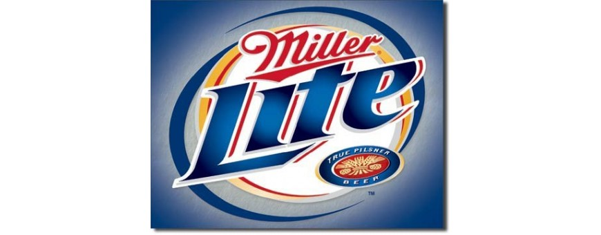 Miller Beer Metal Signs