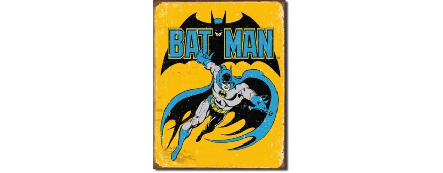 DC Comics Metal Signs