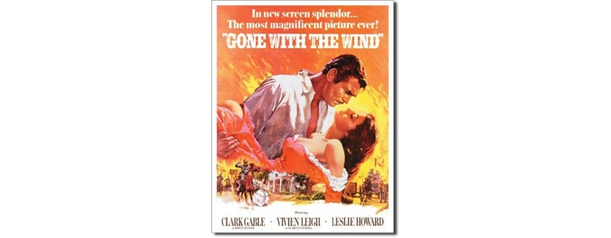 Gone With The Wind Metal Signs