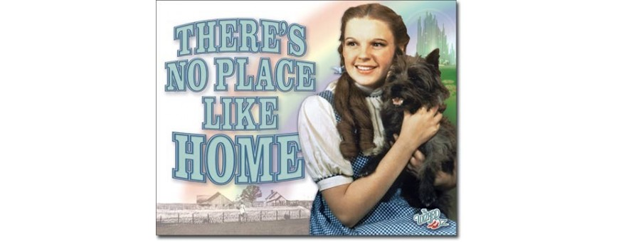 Wizard of Oz Metal Signs